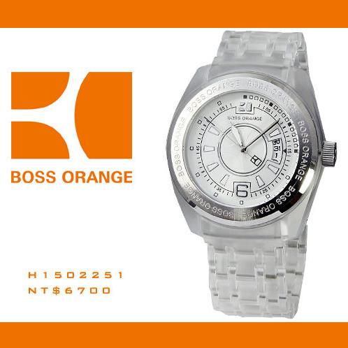 【完全計時】手錶館│BOSS輕量設計 簡約輕透白刻度設計款 H1502254 男錶/女錶
