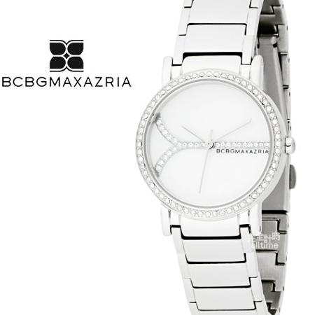 【完全計時】手錶館│BCBGMAXAZRIA 復古時光銀色風尚 璀璨禮物 下殺BG8213