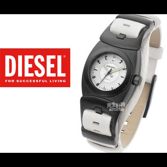 【完全計時】手錶館│DIESEL 時尚特殊皮帶錶款 個性表露無遺 DZ5059