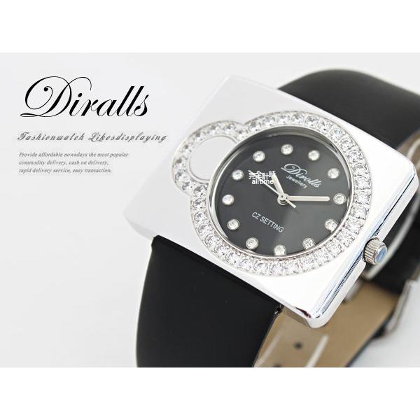 【完全計時】手錶館│Diralls帝勞斯 晶鑽 推薦女錶 名家造型款 37758 特價下殺