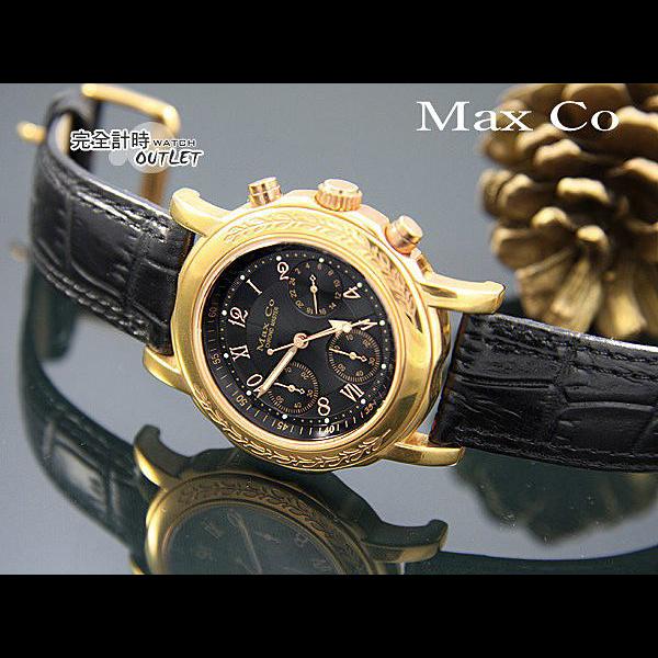 【完全計時】手錶館│Max Co 風華雅典 時尚玫瑰金多功能腕錶 MASRG318-2