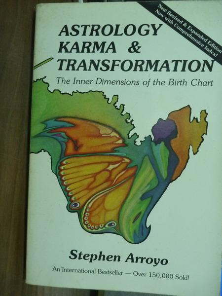 【書寶二手書T1/原文書_PIO】Astrology, Karma & Transformation