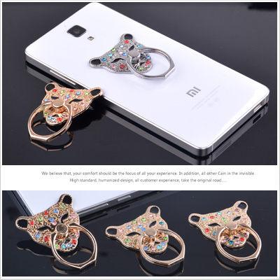 彩鑽豹 水鑽鋁合金 手機架 指環架 戒指架 手機支架 支撐架 防摔 指環 Aizo‧Design【D0106064】