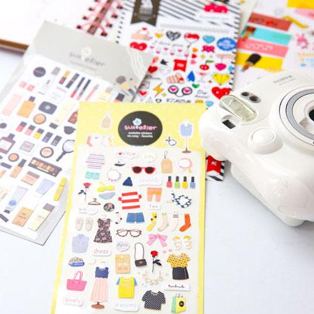 多款韓國貼紙 裝飾貼紙 多用途貼紙 拍立得底片 MINI 7S 25 50S 8 90 mini8 mini90 SP-1【B070143】