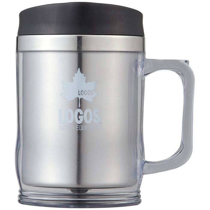 LOGOS 日本 | 保溫杯420ml(煙灰) | 秀山莊(LG81285100)