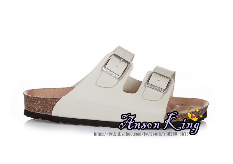 [Anson King]Outlet正品代購  birkenstock Arizona系列 男女款 懶人涼拖鞋 奶白色