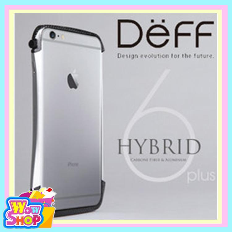 DEFF iPhone 6 plus Hybrid 鋁合金邊框