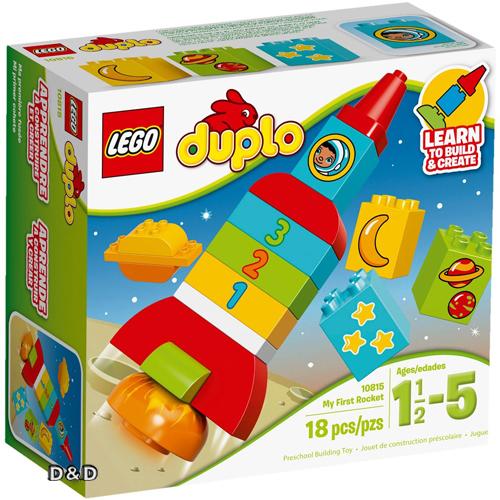 樂高積木 LEGO《 LT10815 》2016 年 Duplo 幼兒系列 - 我的第一座火箭