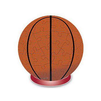 【P2 拼圖】3'' 球型拼圖系列 籃球 60片 HP0360006