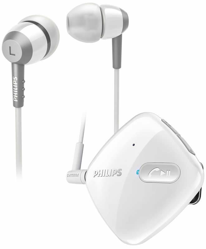 【迪特軍3C】PHILIPS 飛利浦 SHB5000 WT Philips 藍芽 立體聲耳道式耳機 白色