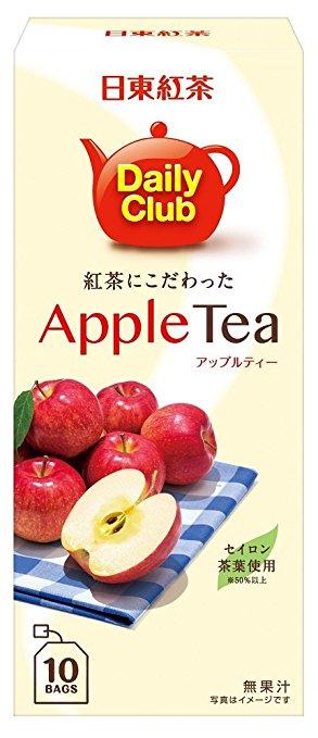 【日東紅茶】Daily Club 蘋果水果紅茶10入(22g) =新版=