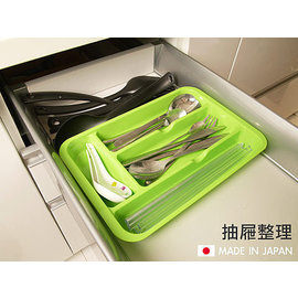 Loxin【SI0156】日本製 刀叉整理盒抽屜收納盒 文具 餐具收納 桌面 廚房收納 抽屜收納 405