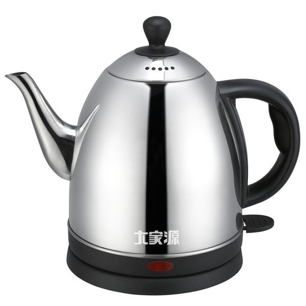 免運費 大家源 1L不鏽鋼304分離式快煮壺/電茶壺/熱水壺/泡茶壺 TCY-2710