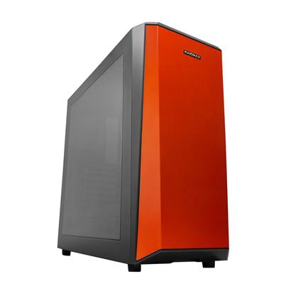 【迪特軍3C】DELTAI 橘 電腦機殼 電競 簡潔設計 支援長度為200mm的PSU