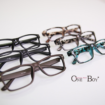 『 One Boy 』【ZU9983】韓系簡約實搭方形質感裝飾鏡框