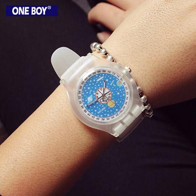 『 One Boy 』【N8108】俏皮玩色感實搭數字手錶