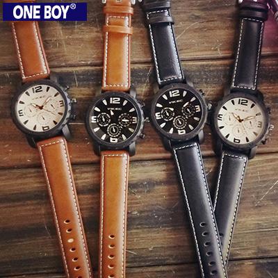 『 One Boy 』【N8159】日系大錶面機能款設計休閒數字手錶