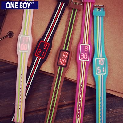 『 One Boy 』【N8163】街頭運動潮流款休閒電子手錶