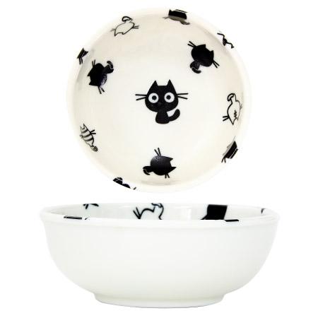 圓碗 小 BLACK CAT