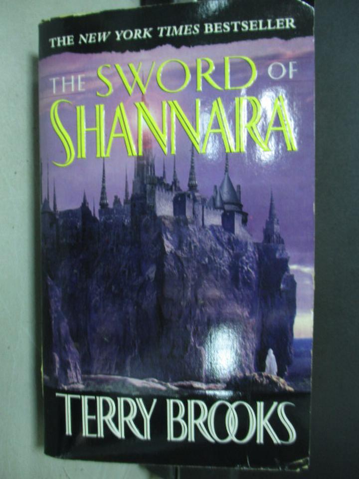 【書寶二手書T2/原文小說_KCD】The sword of shannara_Terry brooks