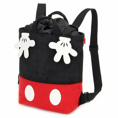ROO 迪士尼 米奇和米妮帆布背包/547-098