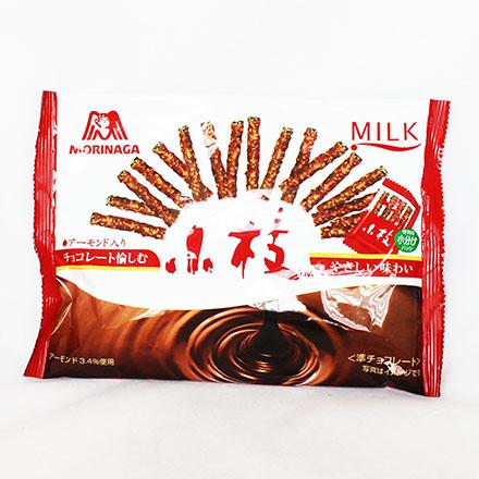 【敵富朗超巿】森永製果 小枝杏仁巧克力餅乾棒 (144g)