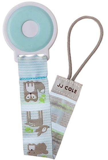 【淘氣寶寶】JJ COLE Pacifier Clip 奶嘴鍊 (fauna-m) 小浣熊【保證原廠公司貨】