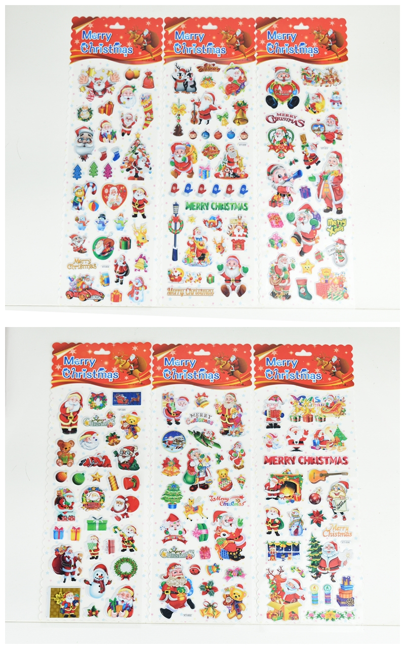 X射線【X389801】聖誕泡泡貼,聖誕節/貼紙/聖誕佈置/聖誕造景/聖誕裝飾/玻璃貼/牆面佈置/壁貼/靜電貼