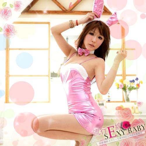 火辣兔女郎~貼身洋裝角色扮演漆皮兔女郎*流行E線A361