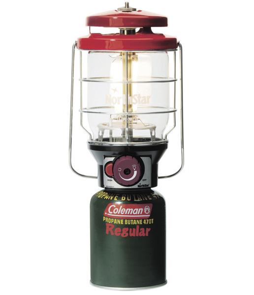 【露營趣】中和 美國 Coleman 新款2500北極星瓦斯燈/紅 露營燈 電子點火 CM-5521
