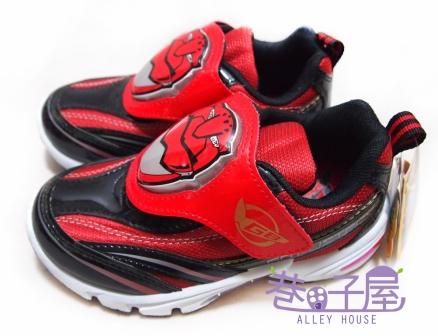 【巷子屋】特命戰隊 男童大頭造型運動休閒鞋 [30402] 紅黑 MIT台灣製造 超值價$198