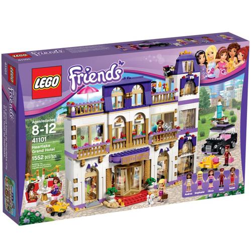 樂高積木LEGO《 LT41101 》2015 年 Friends 姊妹淘系列 - 心湖城大飯店