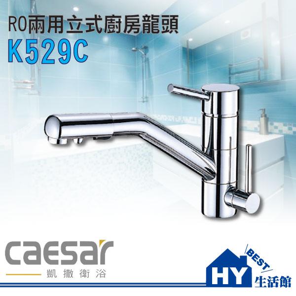 凱撒衛浴精選 K529C RO兩用立式廚栓 廚房水龍頭《HY生活館》水電材料專賣店