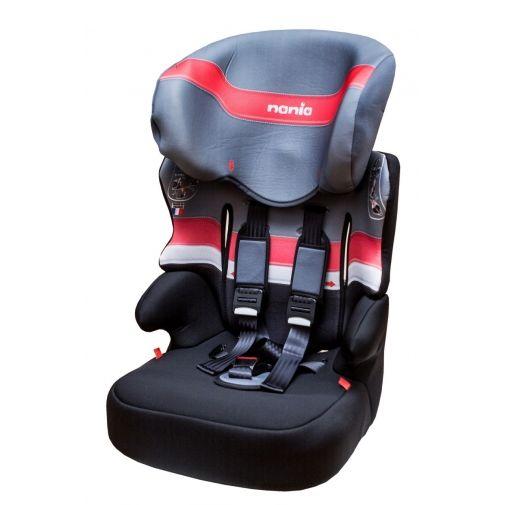 ★衛立兒生活館★NANIA 納尼亞成長型安全汽座-紅色FB00317(安全座椅)