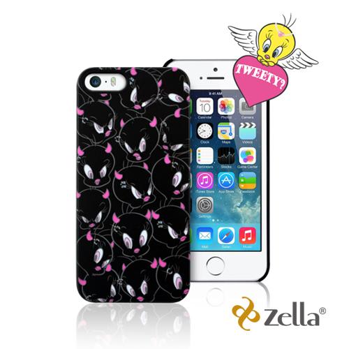 [福利品] Zella iPhone5/5S Tweety天使與魔鬼系列保護殼-黑色