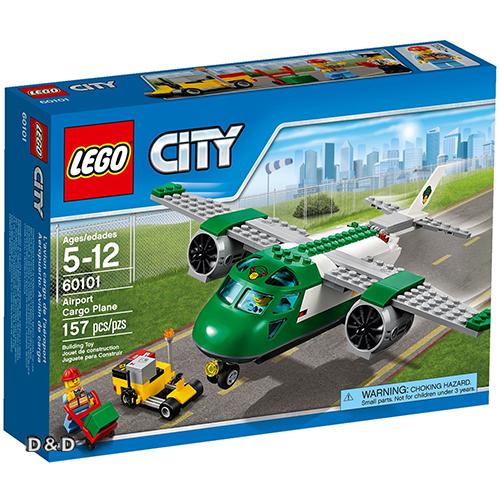 樂高積木LEGO《 LT60101 》City 城市系列 - 機場貨運飛機