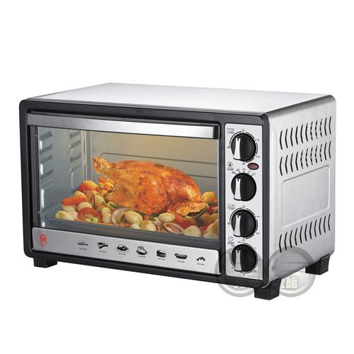 晶工 30L雙溫控不鏽鋼旋風烤箱 JK-7300~9/14下架~