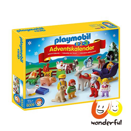 Playmobil 123胖摩比農場降臨曆