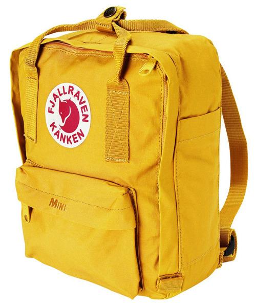 【鄉野情戶外專業】 Fjallraven |瑞典|  小狐狸 Kanken Mini 方型書包 方型背包 後背包 (溫暖黃) _23561