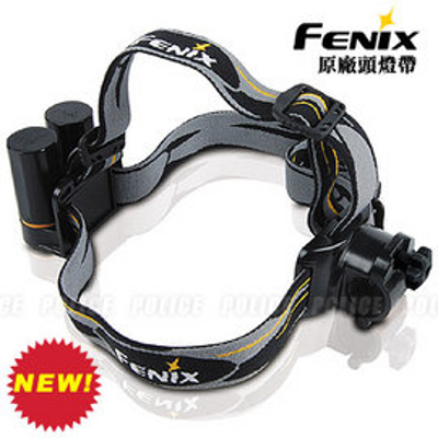 [ Fenix ] Fenix手電筒專用頭燈帶 HEADBAND 黑色螺帽款