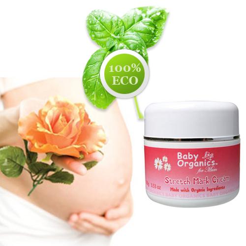 【好優Hoyo】澳洲原裝Baby Organics  純天然88%有機媽媽妊娠紋霜 100g