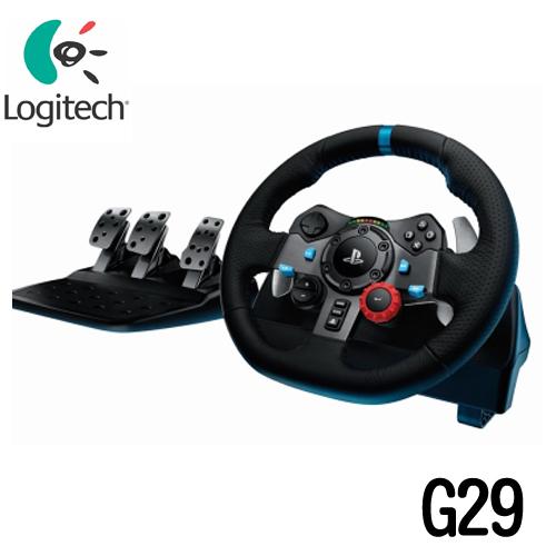 Logitech 羅技 G29 力回饋賽車方向盤(PC/PS4-適用)