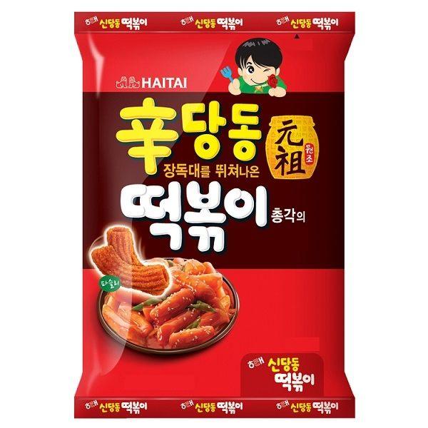 【韓國餅乾】海太Haitai辣炒年糕餅乾 • 辣年糕餅乾 • Selina超愛