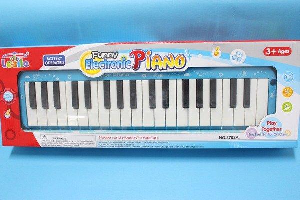 兒童電子琴 3703A 多功能學習琴玩具 (37鍵/附電池)/一個入{促350}~CF108534