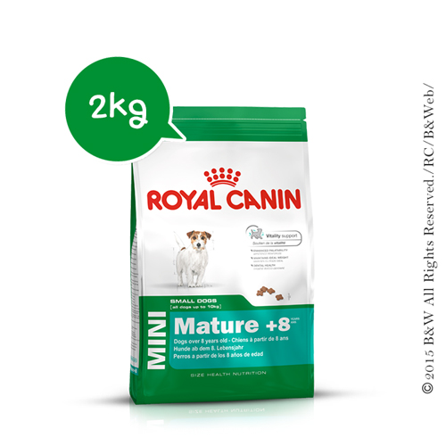Royal Canin 法國皇家 小型熟齡犬 SPR+8 2KG/2公斤