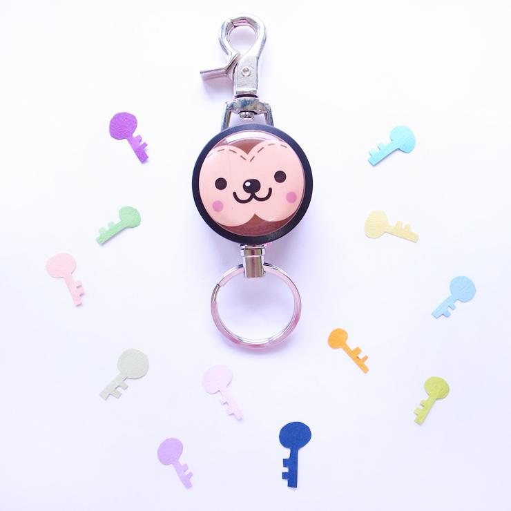 小猴子,鋼線伸縮鑰匙圈