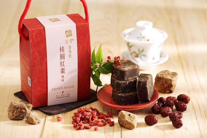 【糖鼎養生鋪】★禮盒包裝★桂圓紅棗茶磚(35克x14顆獨立包裝)