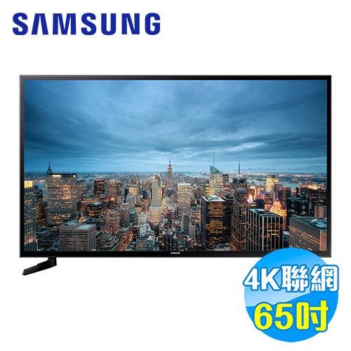 SAMSUNG 三星 65吋 4K平面Smart TV UA65JU6000WXZW
