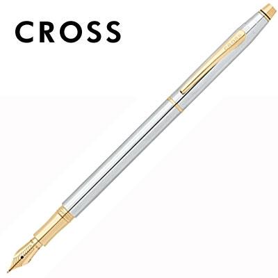 CROSS 世紀經典系列 AT0086-75MF 金鉻鋼筆 / 支