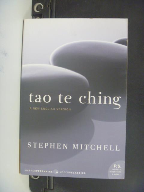 【書寶二手書T9/宗教_OMC】Tao Te Ching_Lao字/ Mitchell